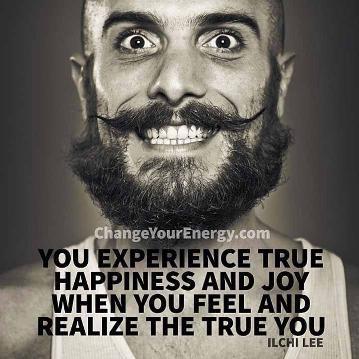 Experience true happiness