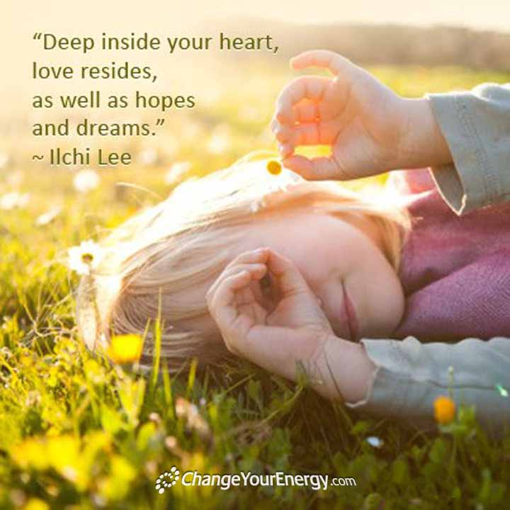Deep inside your heart