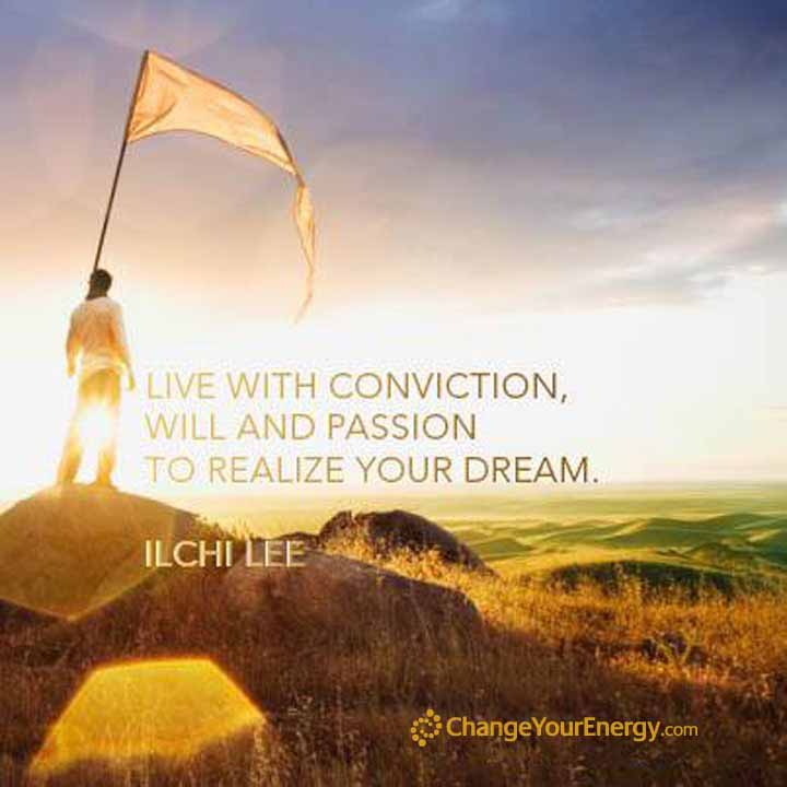 Conviction passion dream