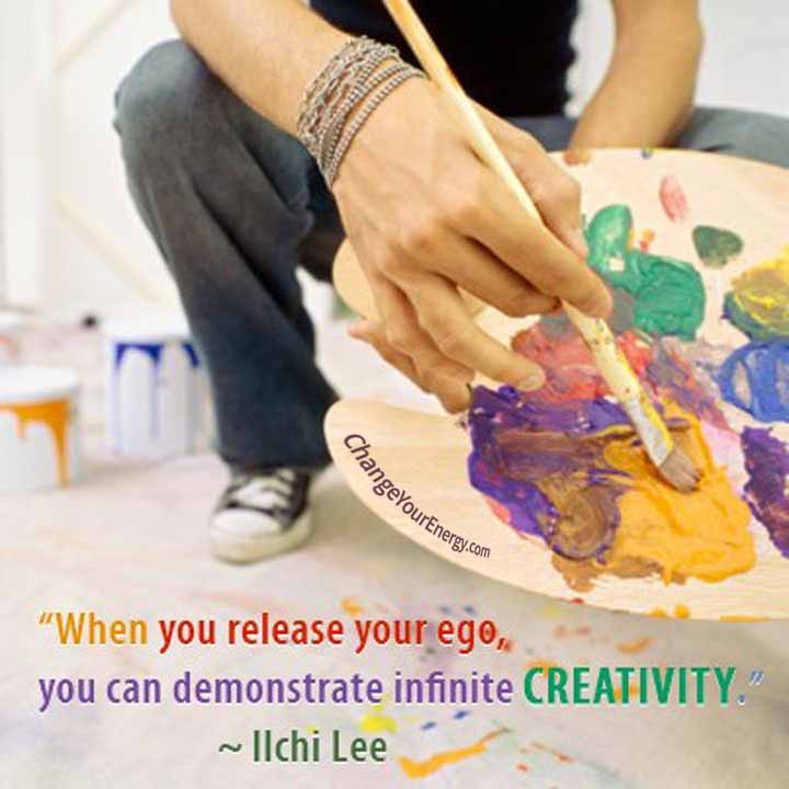 Release ego creativity