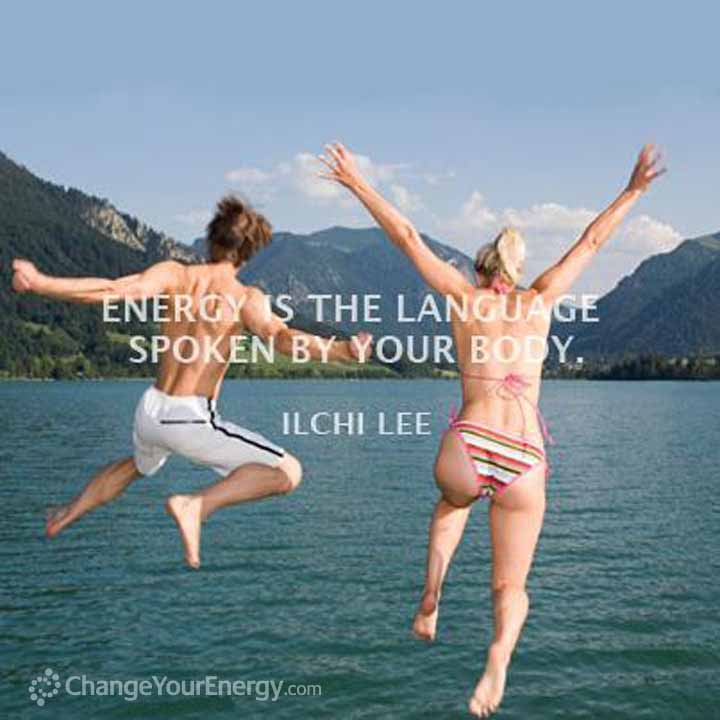 Energy spoken your body