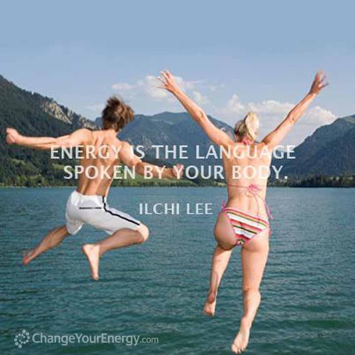 Energy spoken your body