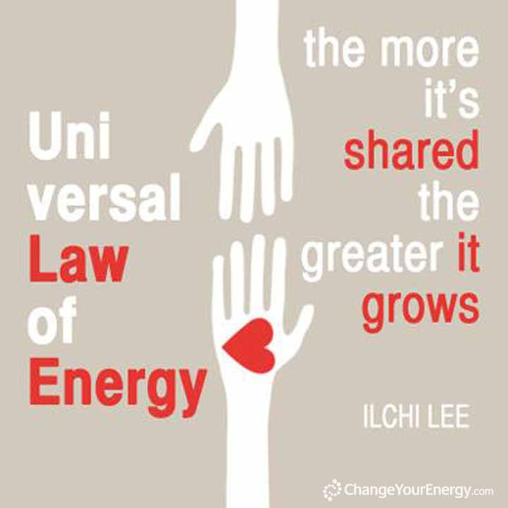 Universal Law of Energy